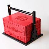 Rectángulo de empaquetado de encargo magnífico de la torta de luna de Hong-Kong