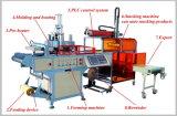 Découpage Hy-540760 de formation en plastique empilant comptant la machine de Thermoforming