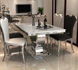 普及した大きいステンレス鋼のダイニングテーブル