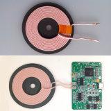 Radio chargeant l'enroulement sans fil de chargeur de carte de 6.3 Uh
