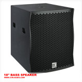 Bass Horn Loaded+Sound System를 가진 Cvr 8inch Subwoofer