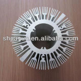 Personnalisé estampant le radiateur d'alliage d'aluminium