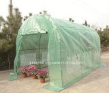 Invernadero tubular del estante vegetal de la flor del jardín