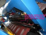 Le mattonelle d'acciaio dei prodotti del tetto delle ville laminato a freddo la formazione della macchina