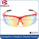 A bicicleta feita sob encomenda de Dropship do tipo que compete vidros de Sun dos esportes polarizou a lente UV400 Eyewear para o esporte ao ar livre