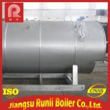 Industrieller Dampfkessel mit Gas