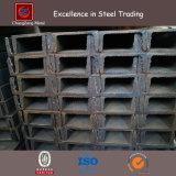 Barra de hierro en U estándar del GB con tallas estándar