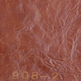 Semi-PLUTÔNIO Leather de Resistant da abrasão para Furniture (908#)