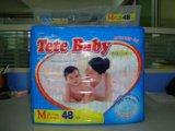 Tete 아기 처분할 수 있는 중간 크기 48 PCS 기저귀