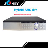 CCTV DVR do híbrido da entrada análoga de Ahd+IP Camera+