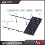 Le meilleur système solaire de vente de support du toit 2016 plat (NM014)