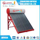 Calefator de água pressurizado solar da bobina de cobre compata