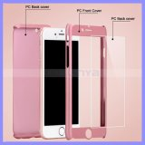 iPhoneのためのTPUのパソコン360 Degree Full Cover Protective Case Glass Screenの6 6s 5s Plus Full Body Case