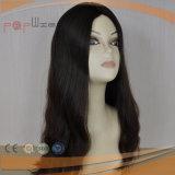 Parrucca superiore di seta lunga eccellente superiore di seta piena dei capelli umani