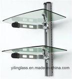 Abgehärtetes Regal-Glas für Fernsehapparat-Standplatz