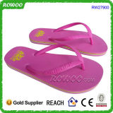 Eco-Friendly Rubber Beach Walk 숙녀 플립 플롭 (RW27900)