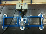 Cuvettes d'aspiration pour la chargeuse/gerbeur en verre/en verre de vide