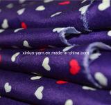 Ткань печати шаржа бабочки для одежды/платья
