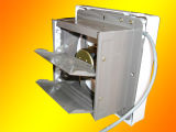 Media aprobación plástica de los CB del extractor del ventilador eléctrico/de la pared
