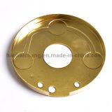 Entretoise de cuivre électrique adaptée aux besoins du client de bride de matériel pour le tube de chauffage