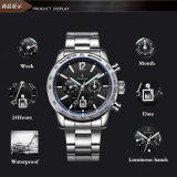 현대 작풍 스테인리스 뒤 기계적인 스포츠 시계, 크로노그래프 시계 Men72261