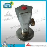Messingwinkel-Kugel-Ventil mit Zink-Griff (YD-A5027)