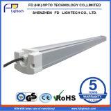 2016 IP65 calientes suspendidos impermeabilizan la luz linear del LED para el supermercado de la gimnasia de la fábrica del proyecto de la iluminación de la calidad