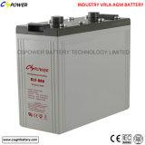 Batterie d'acide de plomb 2V1500ah d'AGM avec 3 ans de garantie