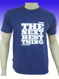 Il cotone unisex su ordinazione Asciutto-Misura la migliore maglietta di qualità