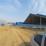 Azienda agricola di maiale prefabbricata della struttura d'acciaio di basso costo
