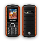 1.77inch Duel-SIM Waterproof Rugged Phone avec IP67 et CE