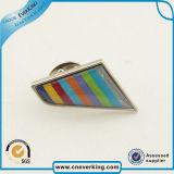 다채로운 금속 접어젖힌 옷깃 Pin를 삭감하는 30mm 50mm 관례 다이아몬드