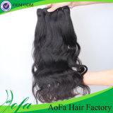 7A de hoogste Inslag van het Menselijke Haar van Remy van het Haar van de Rang Indische Maagdelijke