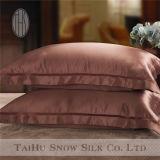 Funda de almohada de gama alta 100% del satén 19m m de la seda de mora con la talla 20 '' x27 ''