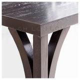 Playwoodの灰上塗を施してある分割されたダイニングテーブル