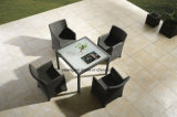 Preiswerter Preis-Oberseite-Entwurfs-im Freiengarten-Möbel, die gesetzte Patio-Möbel (YT020-1, speisen)