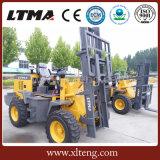 Prix bon marché de qualité chinoise chariot élévateur de terrain accidenté de 2.5 tonnes