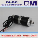 Motor sin cepillo BLDC de NEMA23 100W con 1:50 de la relación de transformación de la caja de engranajes
