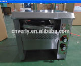 Grille-pain électrique approuvé de convoyeur de la CE/grille-pain à chaînes automatique de convoyeur de four (VPT-358)