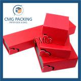 赤い高品質の宝石類の荷箱(CMG-PJB-025)