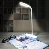 Anschlagbrett-Anzeigen-Licht-Schreibtisch-Lampe justierbarer Helligkeits-Noten-Fühlerflexibler Gooseneck USB-nachladbare LED