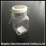250ml ClearおよびSquare Glass Storage Jar