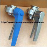 고순도에 대한 위생 버터 플라이 밸브