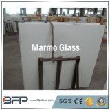 Белое искусственное каменное Nano стекло, плитки слябов Marmo стеклянные