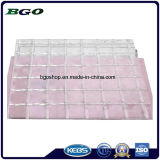 PVC Transparent Mesh Tarpaulin (1000dx1000d 3X3 500g)、File Folder Material、Clear Tent Fabric.