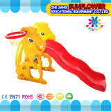 Innenspielplatz-Kaninchen-Form-Kind-Spielwaren-Kindergarten-weicher Plastikplättchen-Spielplatz (XYH12065-5)