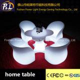 Geleuchteter nachladbarer LED Kaffeetisch des Garten-Möbel