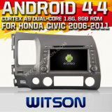 Witson Car Audio GPS DVD para Honda Civic2006-2011 (W2-F9313h)
