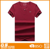 T-shirt redondo da garganta da forma dos homens