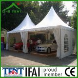 Barraca lateral do dossel do Gazebo do Carport do PVC do carro quadrado do lazer
